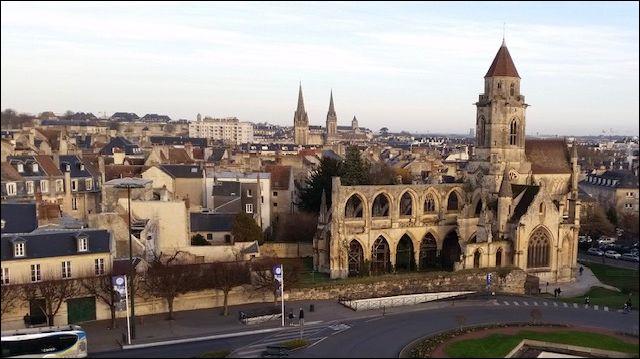 De quel département Caen est-elle le chef-lieu ?