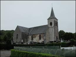 Voici l'église Sainte-Bertulphe de Doudeauville. Commune Pas-de-Calaisienne, elle se situe en région ...