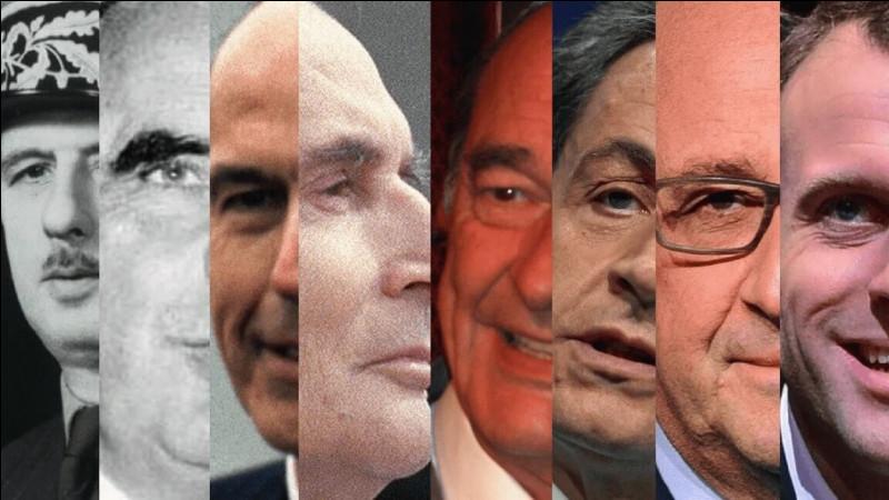 Combien de Présidents de la Cinquième République sont encore en vie ?