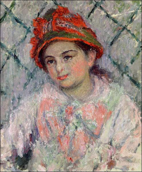 De qui Claude Monet a-t-il réalisé le portrait ?