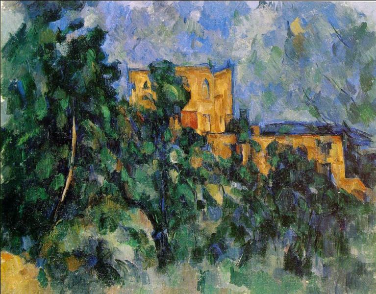 Et enfin retrouvez le château de Paul Cézanne :