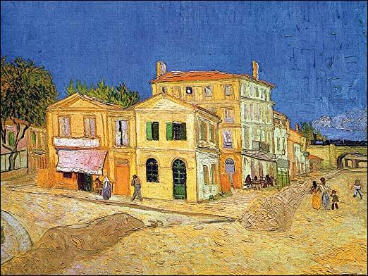 Retrouvez le titre de la maison de van Gogh !