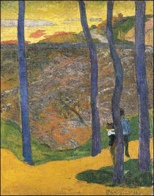 Comment sont les arbres de Gauguin ?