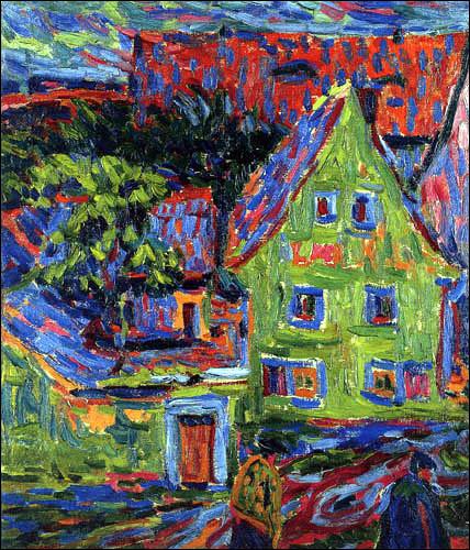 Comment est la maison d'Ernst Ludwig Kirchner ?