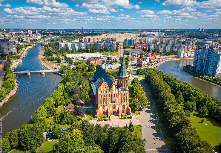 Enfin, voici l'ancienne Königsberg prussienne. Dans quel pays la visiterez-vous aujourd'hui ?