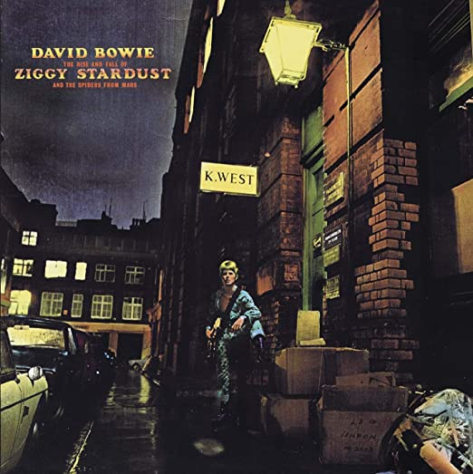 ''The Rise and Fall of Ziggy Stardust and the Spiders from Mars'' de David Bowie, 1972