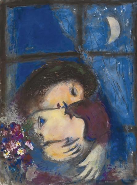 """Quel peintre est l'auteur du tableau """"Deux visages à la fenêtre"""" ?"""