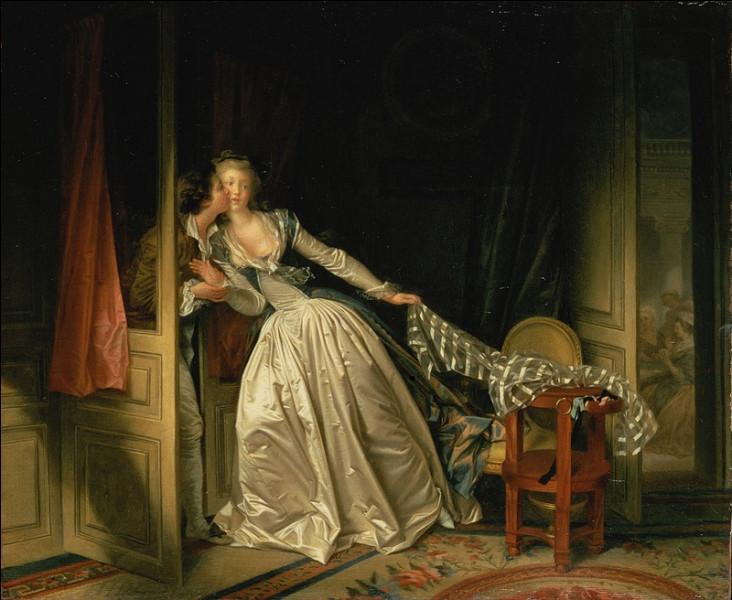 """""""Le Baiser à la dérobée"""" est un tableau de quel peintre ?"""