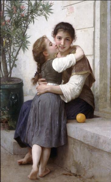 """Quel peintre est l'auteur du tableau """"Câlinerie"""" ?"""