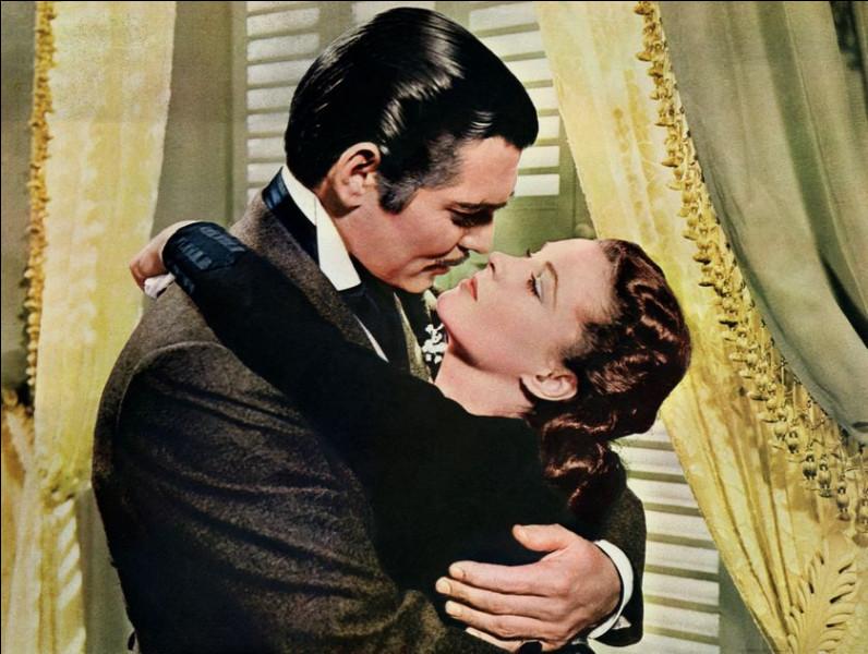 Dans quel film classique hollywoodien peut-on voir le couple Vivien Leigh et Clark Gable ?