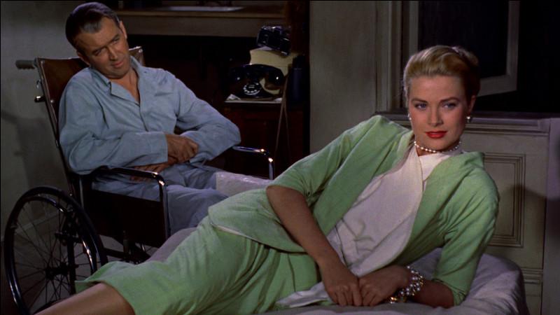 Quel film d'Alfred Hitchcock réuni Grace Kelly et James Stewart ?