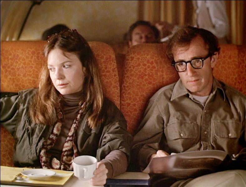 Dans quel film réalisé par Woody Allen lui-même peut-on le voir avec l'actrice Diane Keaton ?
