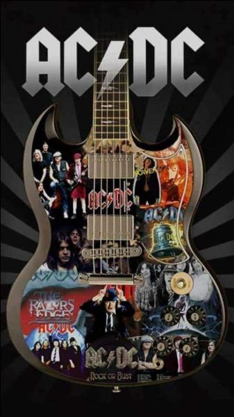 D'où est originaire le groupe de rock AC/DC ?