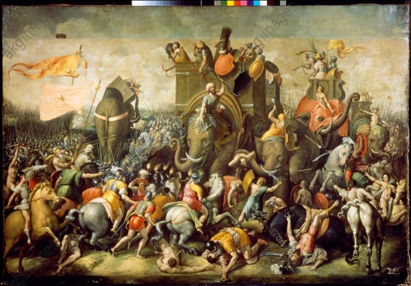 En 202 avant J-C, c'est la dernière bataille de la deuxième guerre punique. La victoire des armées romaines dirigées par Scipion l'Africain oblige Carthage, vaincue, à signer un traité de paix qui marque la fin de sa domination en Méditerranée occidentale. C'est la bataille de ...