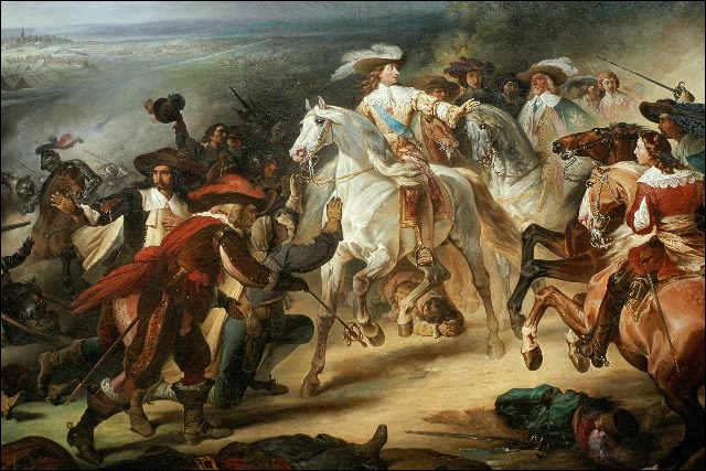 C'est une bataille essentielle de la guerre de Trente Ans, le 19 mai 1643, entre les armées française et espagnole. La victoire de l'armée française menée par Louis de Bourbon (le futur Grand Condé) marque la fin de l'invincibilité de l'infanterie espagnole. C'est ...