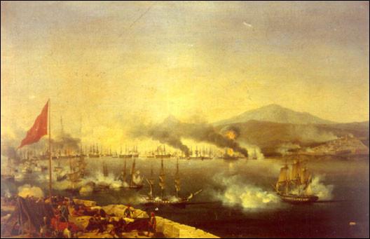 Cette bataille navale, qui s'est déroulée le 20 octobre 1827, se conclut par la totale défaite ottomane face à la flotte anglo-franco-russe : c'est l'étape décisive dans la guerre d'indépendance grecque. C'est la bataille de ...