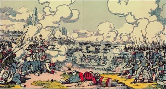 C'est le 3 juillet 1866, l'affrontement décisif de la guerre austro-prussienne, qui se déroule près de la ville tchèque de Hradec Králové. La grande victoire du général prussien von Moltke met fin à la lutte de pouvoir entre la Prusse et l'Autriche. L'Autriche doit accepter la suprématie prussienne sur le monde germanique. C'est ...