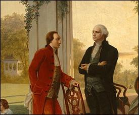 Quel cadeau le marquis de La Fayette, commandant de la garde nationale de Paris, a-t-il offert à Washington en 1790 ?