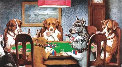 Quel peintre américain a créé une série de tableaux avec des animaux anthropomorphes ?