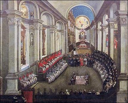Sur quelle période le concile de Trente s'est-il déroulé ?