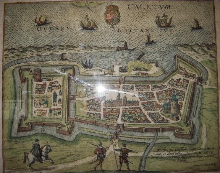 Qui récupère la ville de Calais en 1568 ?
