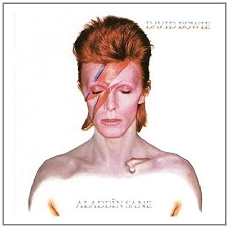 ''Aladdin Sane'' de David Bowie, 1973