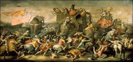 Lors de la première guerre punique, contre Carthage, quelles sont les îles qui sont prises par Rome entre 264 et 241 av. J.-C. ?