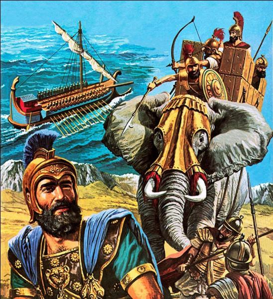 Où Hannibal est-il défait en 202 av. J.-C. par l'armée de Scipion l'Africain lors de la seconde guerre punique ?