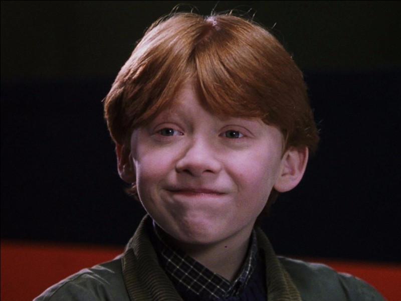 Et celui de Ron Weasley ?