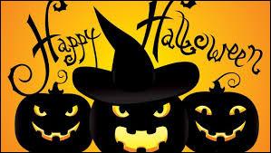 Quand fêtons-nous Halloween cette année ? (tu peux t'aider de la date du quiz )