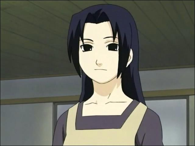Elle est très proche de Sasuke, elle est l'épouse de Fugaku :
