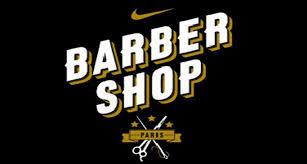 """Le """"Nike Barber Shop"""" est un concept de publicité sur le thème d'un salon de coiffure des années 1920. Le plus médiatisé est celui de Paris. Le """"Barber Shop"""" est accompagné d'un clip de publicité tourné avec le footballeur Alvaro Morata."""