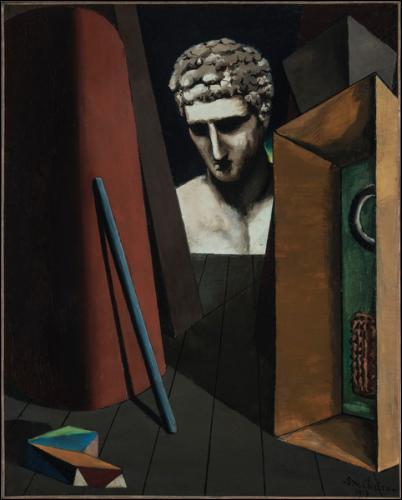 """À quel peintre italien, doit-on """"Mélancolie hermétique"""" ?"""