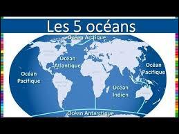 Les océans recouvrent :