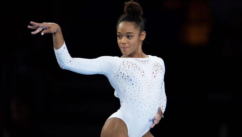 Quel est l'agrès que cette gymnaste aime le moins ?