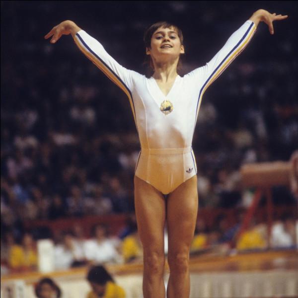 Quel est l'agrès favori de cette gymnaste ?