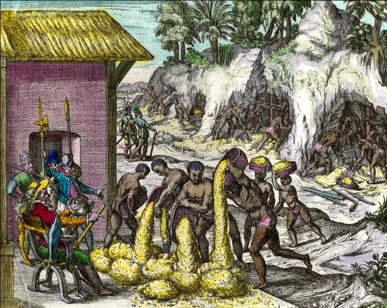 Qui dénonce les conditions de travail des plus de 12 000 000 Indiens travaillant dans les mines à la recherche de ressources telles que l'or ou l'argent ?
