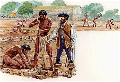 Comment se nomme le système institutionnel issu de la Reconquista et reproduit dès 1503 en Amérique octroyant un nombre d'Indiens à un colon qui les protège en échange d'un tribut ?