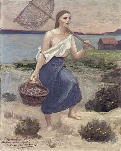 "Qui a peint ""La pêcheuse"" ?"