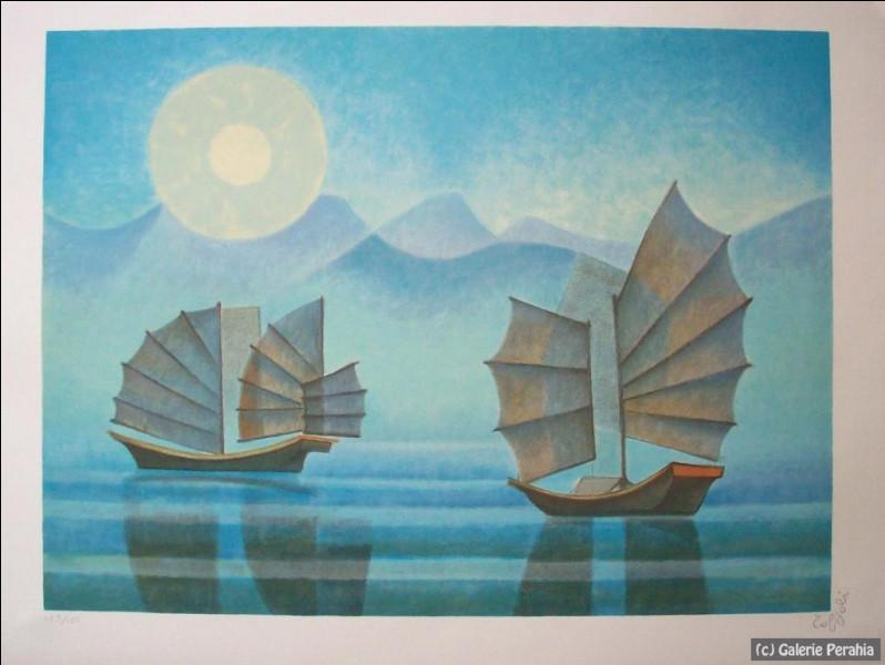 Qui a peint ces voiliers ?