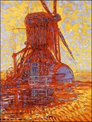 "Qui a peint ""Moulin au soleil"" ?"