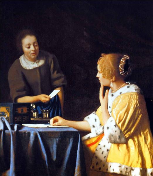"Qui a peint ""Dame et servante"" ?"
