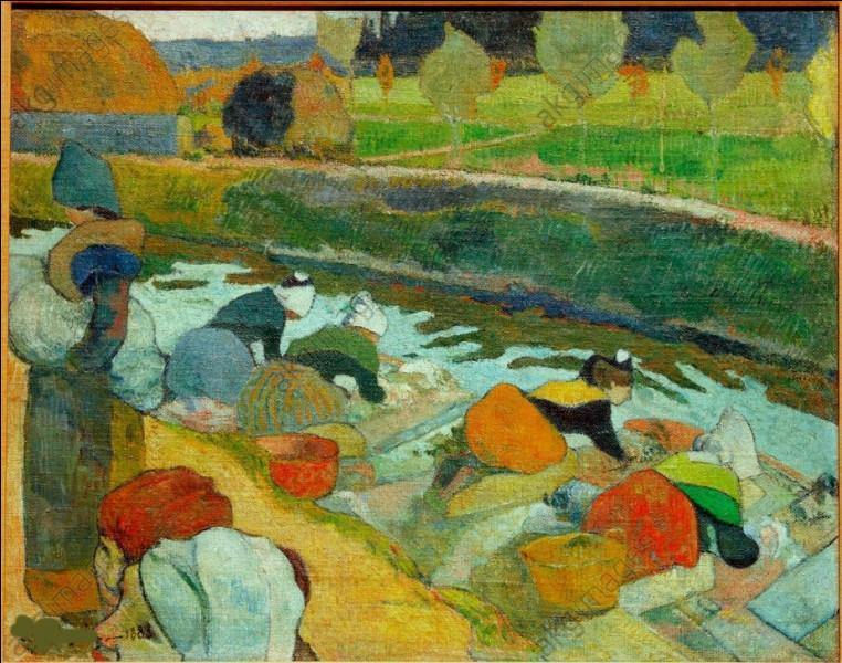 """Qui a peint """"Les Lavandières au canal Roubine du Roi"""" ?"""