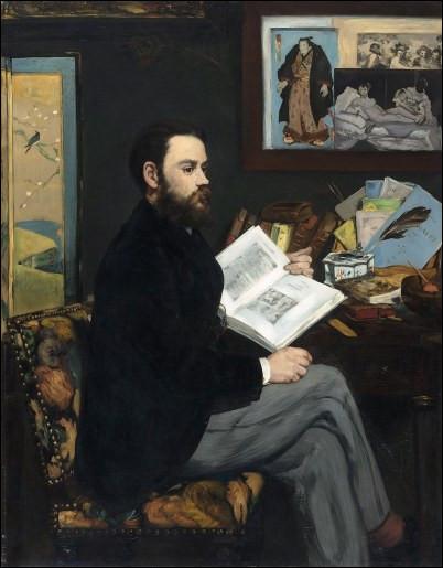 Qui a réalisé le portrait d'Émile Zola ?