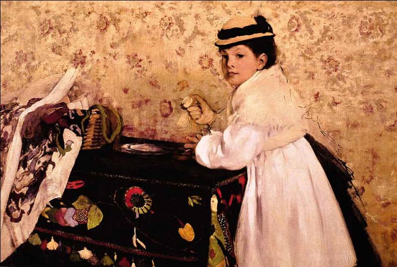 """Qui a peint """"Hortense Valpinçon, enfant"""" ?"""