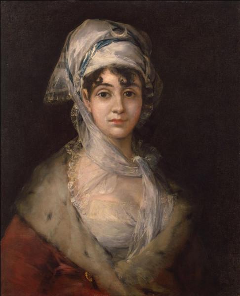 Quel est le titre du seul tableau de Francisco Goya exposé au musée de l'Ermitage à Saint-Pétersbourg ?