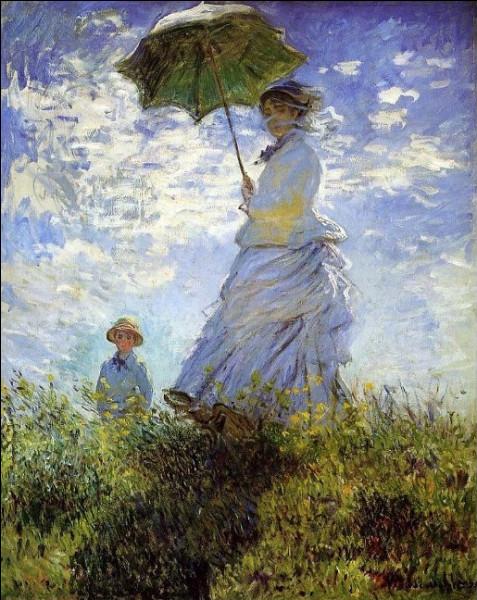 """Contrairement à Claude Monet, qui n'a jamais peint de """"Femme à l'ombrelle"""" ?"""