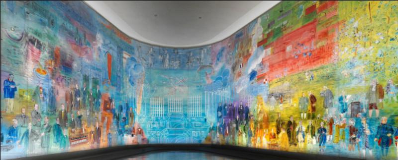 Quel est le nom de la grande décoration murale exécutée par Raoul Dufy ?