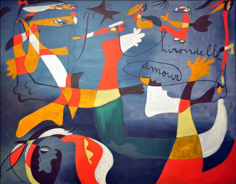 """De quel artiste est cette citation : """"Je ne fais aucune différence entre peinture et poésie"""" ?"""