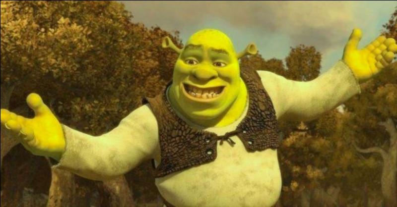 Voici Shrek ! C'est...